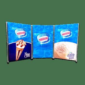 C 10_20 - Segmented Banner Wall Kits - Econo copy (Custom)