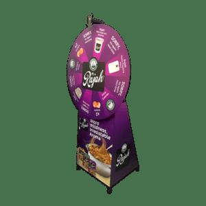 C 17_5 - Maxi Spin n Win (Spinning) Wheel + Full Base Branding - 2 copy (Custom)