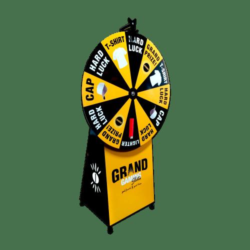 Maxi Spin n Win (Spinning) Wheel + Full Base Branding