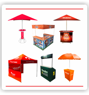 OUTDOOR BRANDING & PROMOTIONAL FURNITURE