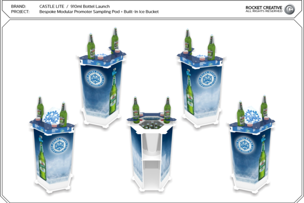 11 Castle Lite Sampling Pod