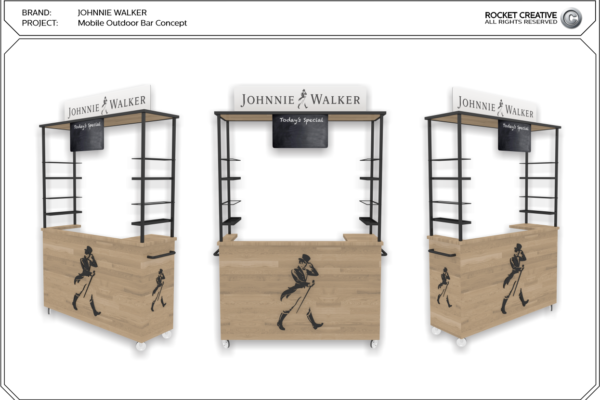 9 - johnnie walker bar